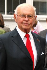 Dr. Franz Drewes bei der Feier seines 85. Geburtstages in der Theologischen Fakultät Paderborn. | Foto: ThF-PB
